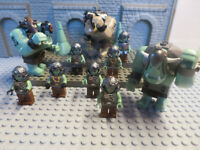 (I / 11/12) Lego Seigneur des Anneaux Lord Of The Rings Troll Orcs 79004 Set Kg
