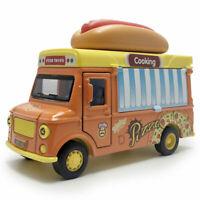1:32 Hot Dog Imbisswagen Die Cast Modellauto Auto Spielzeug Model Sammlung Licht