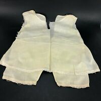 True Vintage Antique Homemade Slip/ Bloomer Doll Clothes Clothing Antique Lace