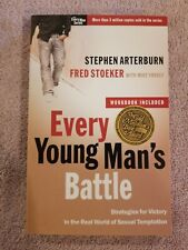 EVERY YOUNG MAN'S BATTLE STEPHEN ARTERBURN PAPERBACK NEW FREE S/H