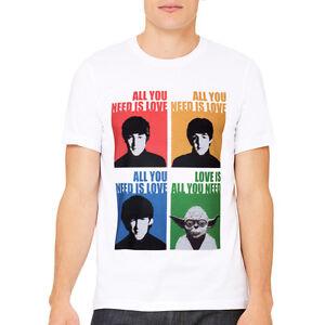 All Yoda need is Love - Beatles Yoda Starwars Parody T-shirt