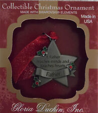 """Very Cute Christmas Ornament """"Father"""" (C-1423)"""