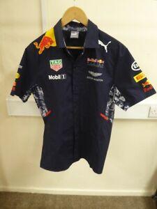 Red Bull Racing F1 Team Shirt By Puma - UK Size Medium