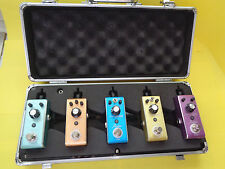 THE ROWIN LC 100 FLIGHT CASE PEDAL BOARD  FOR 5 PEDALS