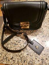 Lanvin Black Patent Leather Shoulder Bag|Designer Lanvin Purse