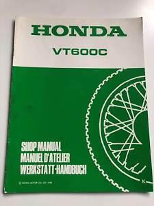 Manual de Taller / Suplemento Honda VT 600C C - (K) (1988) (PC21)
