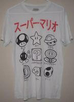 Nintendo Graphic T-Shirt Tee Size S SM Super Mario Brothers Old School 8-Bit