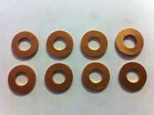 8 Copper Injector Washers for 6.9 / 7.3 / 5.9 diesel, Heat shelds / Tip Gaskets