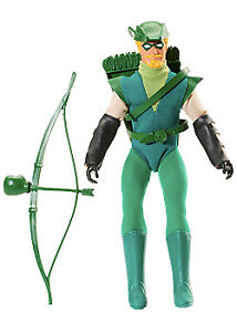Worlds Greatest DC Heroes Retro Doll Figure Mattel Toys - Green Arrow Exclusive