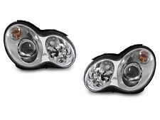 DEPO 01 02 03 04 05 06 07 Mercedes W203 C Class 4D Projector Halogen Headlights
