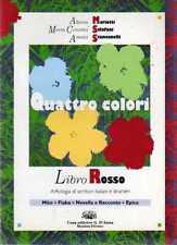 A25 Quattro colori Libro rosso Mariotti Sclafani Stancanelli D'anna ed.