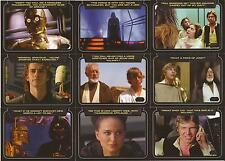 "Star Wars Galactic Files 2 - ""Classic Lines"" Set of 10 Chase Cards CL1-10"