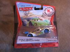 Disney Pixar Cars 2 CARLA VELOSO  W/ METALLIC FINISH Kmart Days 8
