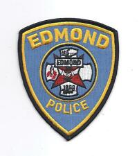 **EDMOND OKLAHOMA POLICE PATCH**