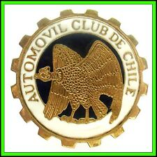 AUTOMOVIL CLUB de CHILE - OLD ENAMELED BADGE ca.1950