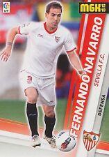 N°296 FERNANDO NAVARRO # SEVILLA.FC OFFICIAL TRADING CARD MGK PANINI LIGA 2013
