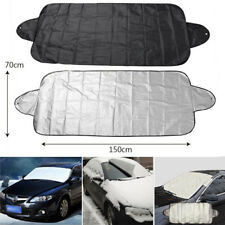 Car Truck Windshield Snow Cover Frost Sun Shade Protector Tarp Flap Magnetic!