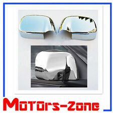 For 02-08 Dodge RAM 1500 2500 3500 Chrome Side View Full Mirror Covers Cover Set