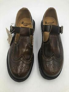 Dr. Martens Brown Casual Oxfords - Size 8 Women's