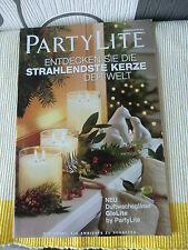 Partylite Hauptkatalog Katalog Herbst / Winter 2012 für Sammler !!! NEU / OVP