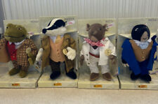 Steiff Wind In The Willows Complete Set - NEW
