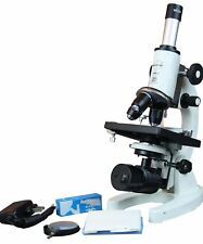 Radical 2500x Cordless Vet Lab Microscope w LED Cordless Rechargeable Lamp & ...