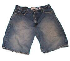 LEVI STRAUSS signature Denim Blue JEAN SHORTS mens size 38