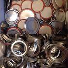20 Ball Mason Jar Canning Lids and Rings, Regular Mouth - New -Bulk Lot