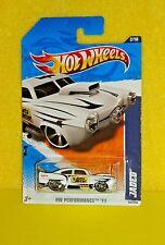 2011 HOT WHEELS PERFORMANCE '11 #132 JADED - PRIMER WHITE