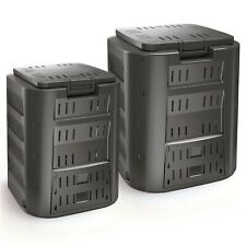 More details for large plastic composter bin organic eco recycling compost converter garden bin