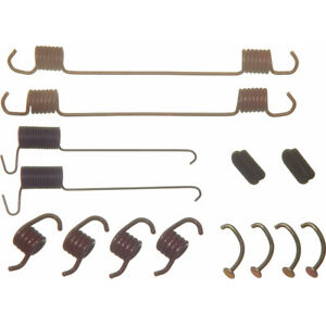 Drum Brake Hardware Kit Rear,Front Wagner H7164