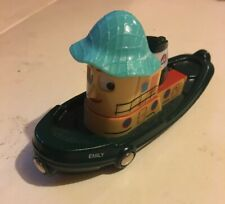 BRIO Wood EMILY Theodore Tugboat Toy Vintage Magnetic Wooden Eye move