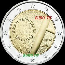 2 €   FINLANDE  LOT DE   1   X  COMMEMORATIVE NOUVEAU   2014   N° 2   disponible