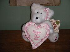 "Boyds Bears Plush 2004 ~8"" Horizon Of Hope Bear~ Longaberger Exclusive"