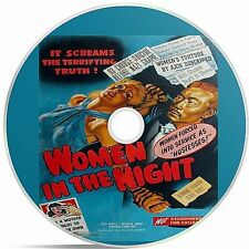 Women In The Night (1948) Black And White Public Domain film Converted To DVD