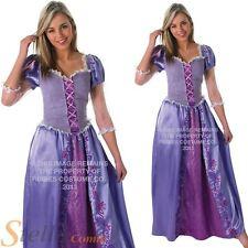 Ladies Disney Rapunzel Tangled Princess Fancy Dress Costume Fairytale Outfit