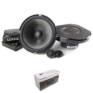 "2x Infinity 6.5"" 270 Watt 3 Ohm Speakers with Tweeters, Crossovers, & Grills"