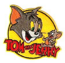 Cute Tom and jerry Embroidered Iron On / Sew On Patch