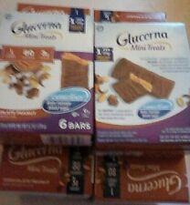 60 GLUCERNA CHOCOLATE PEANUT MINI TREATS NUTRITION BAR BB 9/20 Free Shipping USA