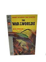 War of the Worlds by H.G. Wells, Vintage 1953 Pocket Books 2nd Print Paperback