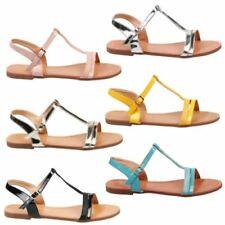 Strappy Flat (0 to 1/2 in.) Sandals & Flip Flops for Women