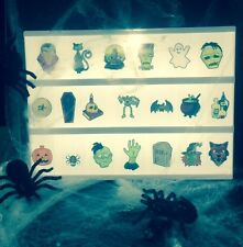 LightBox additional A4 Coloured Halloween Picture symbols