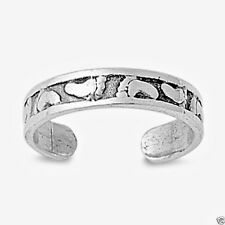 Usa Seller Feet Toe Ring Sterling Silver 925 Best Price Adjustable Jewelry