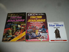 STAR WARS TREK BOOK LOT WARMANS FIELD GUIDE PRICE COLLECTIBLES 1ST 2ND EDITION
