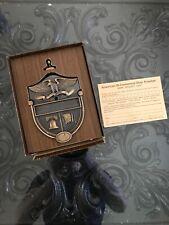Bicentennial Metal Brass Door Knocker Eagle Liberty Bell American Flag VTG
