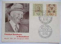 Präsident Eisenhower USA in Deutschland 1959 Sonderkarte (56886)