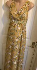 Jo Jo Maman Bebe Floral Maternity Maxi Dress Size small 8 new £49