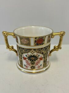Royal Crown Derby Old Imari 1128 Large Loving Cup