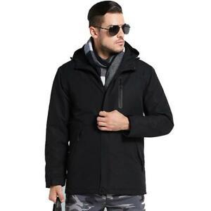 Unco & Boror USB Heated Hiking Jacket Black (Asian XL) US L