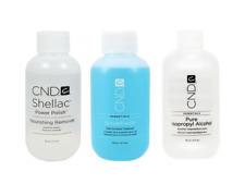 8oz Creative CND ScrubFresh Natural Nail Surface Cleanser Acrylic UV GEL Nails